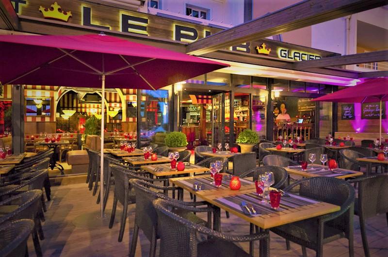 La terrasse du Pub de Carqueiranne