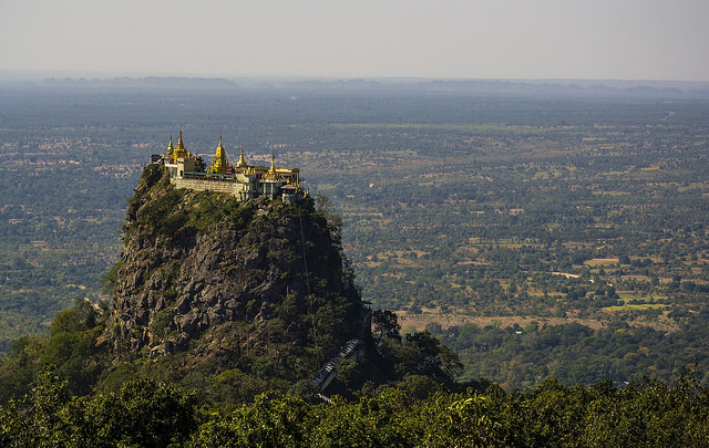 Voyage Birmane Monte Popa