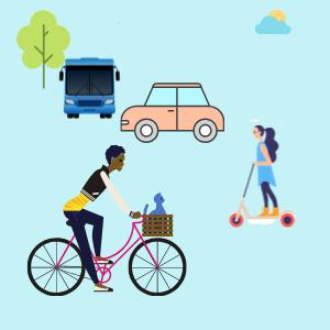 image sur l'écomobilité urbaine